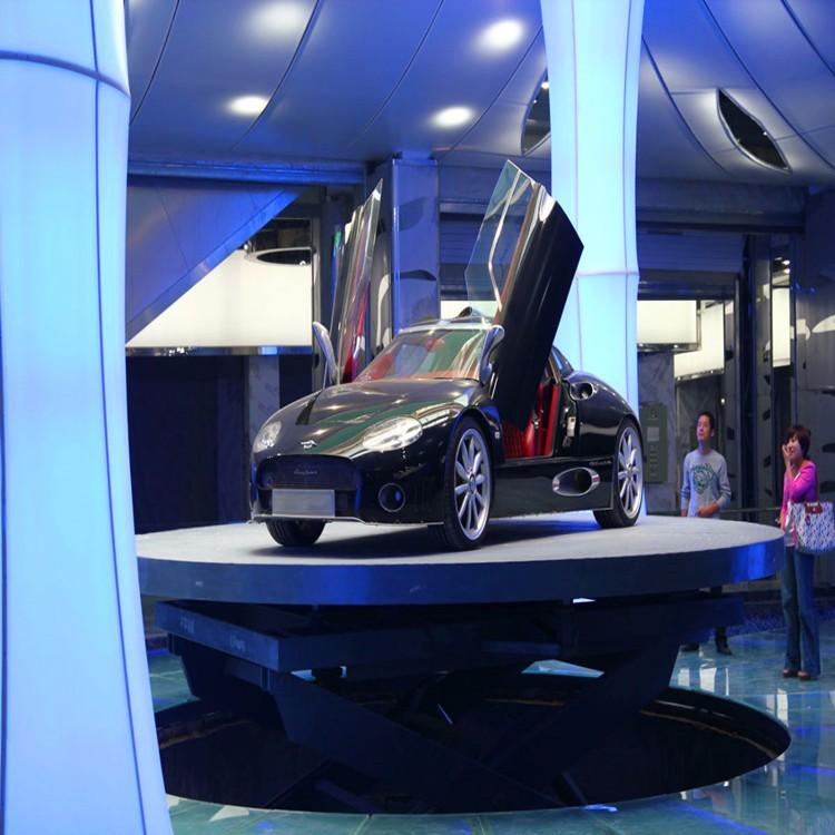 汽车升降旋转舞台